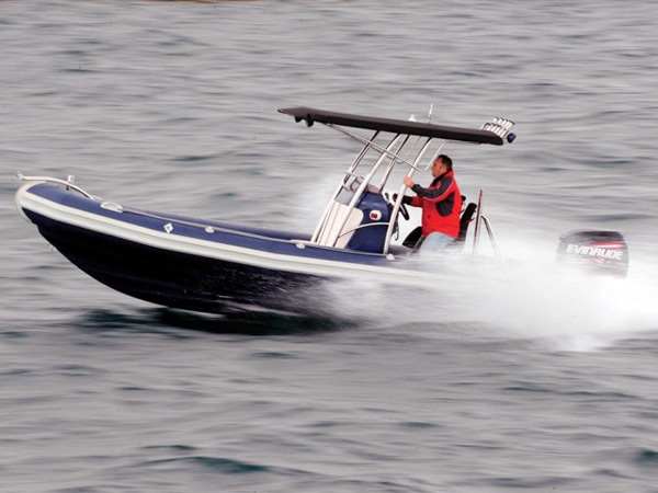 Testing Rigid Inflatable Boat